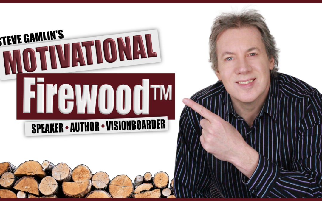 Episode 15: Former Radio Star and Stand-Up Comic Steve Gamlin Stokes a Flame of Inspiration as the Motivational Firewood Guy